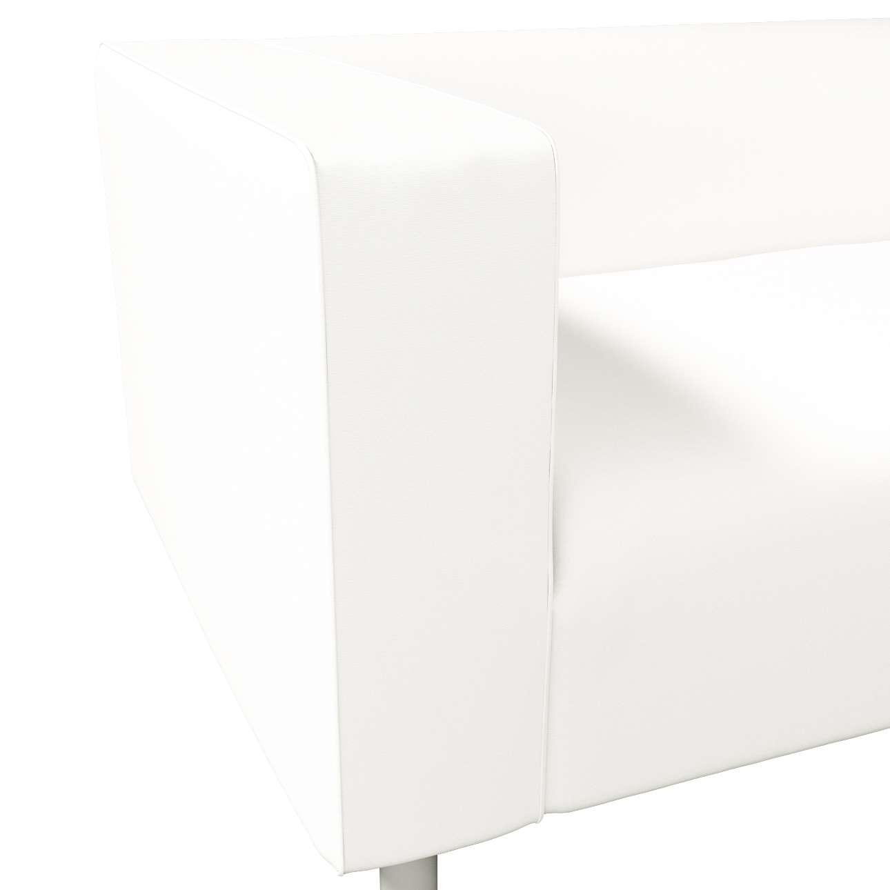 Pokrowiec na sofę Klippan 2-osobową w kolekcji Cotton Panama, tkanina: 702-34