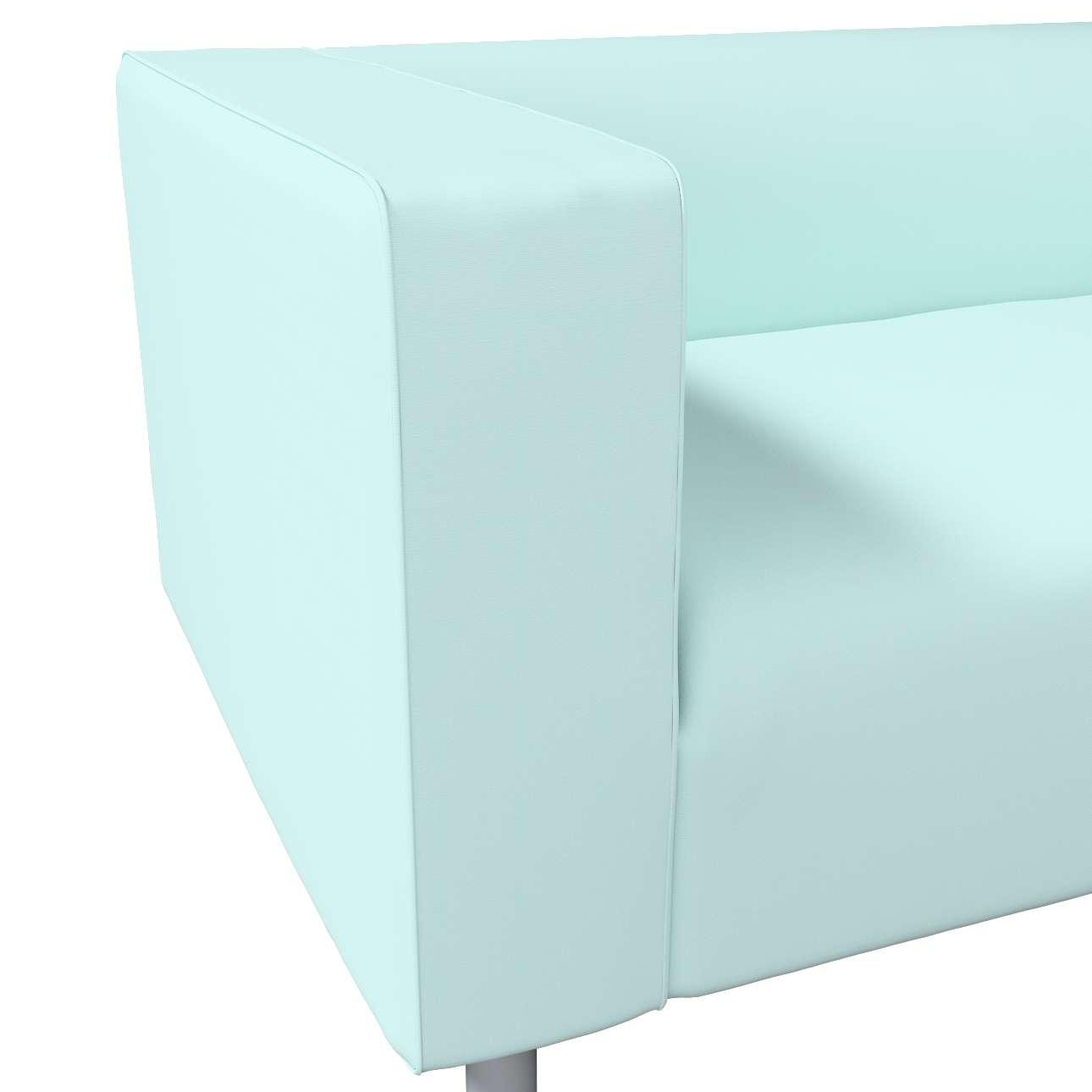 Pokrowiec na sofę Klippan 2-osobową w kolekcji Cotton Panama, tkanina: 702-10