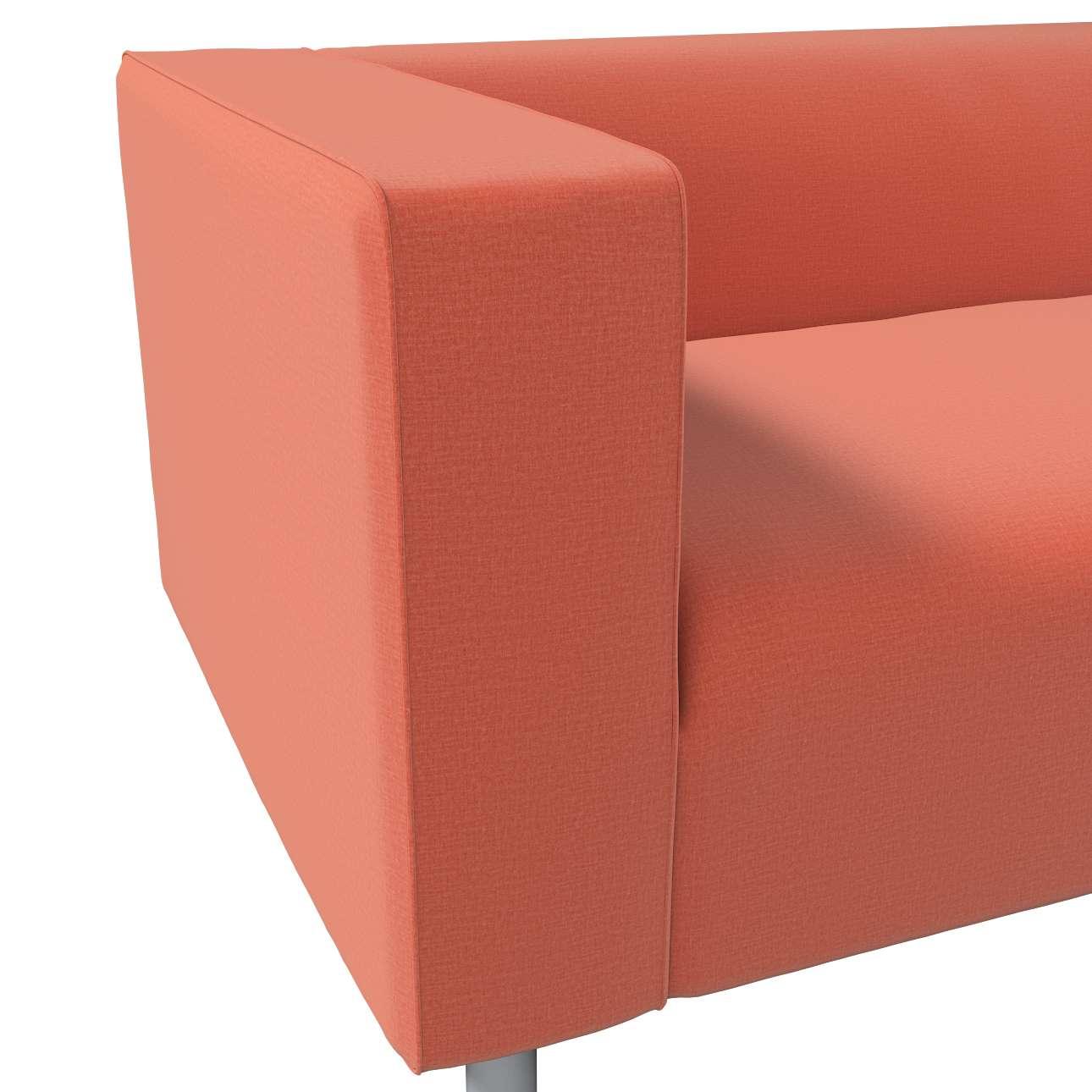 Pokrowiec na sofę Klippan 2-osobową w kolekcji Ingrid, tkanina: 705-37