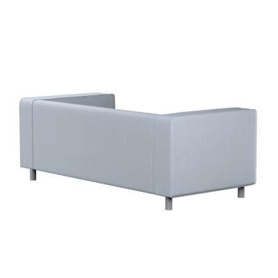 Pokrowiec na sofę Klippan 2-osobową 704-46 błękitny melanż Kolekcja Amsterdam