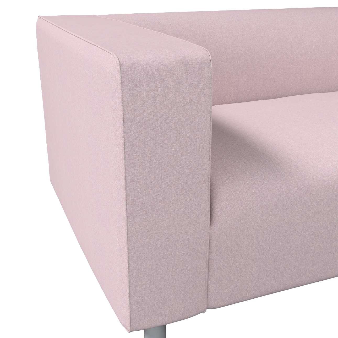 Pokrowiec na sofę Klippan 2-osobową w kolekcji Amsterdam, tkanina: 704-51
