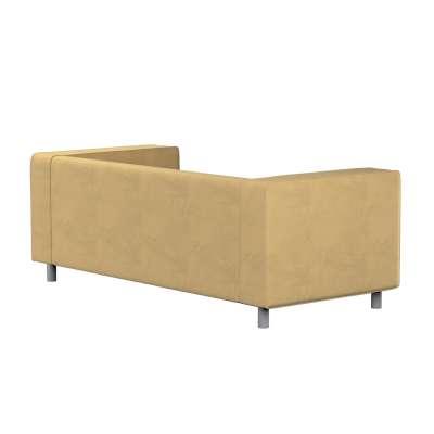 Pokrowiec na sofę Klippan 2-osobową 160-93 piaskowy szenil Kolekcja Living II