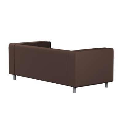 Pokrowiec na sofę Klippan 2-osobową 161-73 czekoladowy brąz Kolekcja Bergen