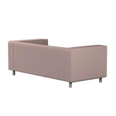 Pokrowiec na sofę Klippan 2-osobową 161-88 szaro - różowy melanż Kolekcja Madrid
