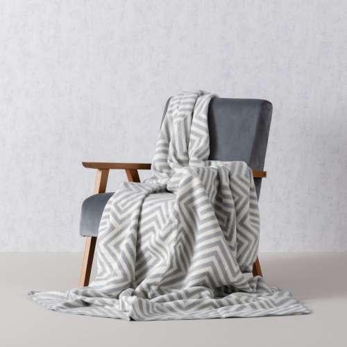Cotton Cloud Blanket - Cream Maze 150x200cm