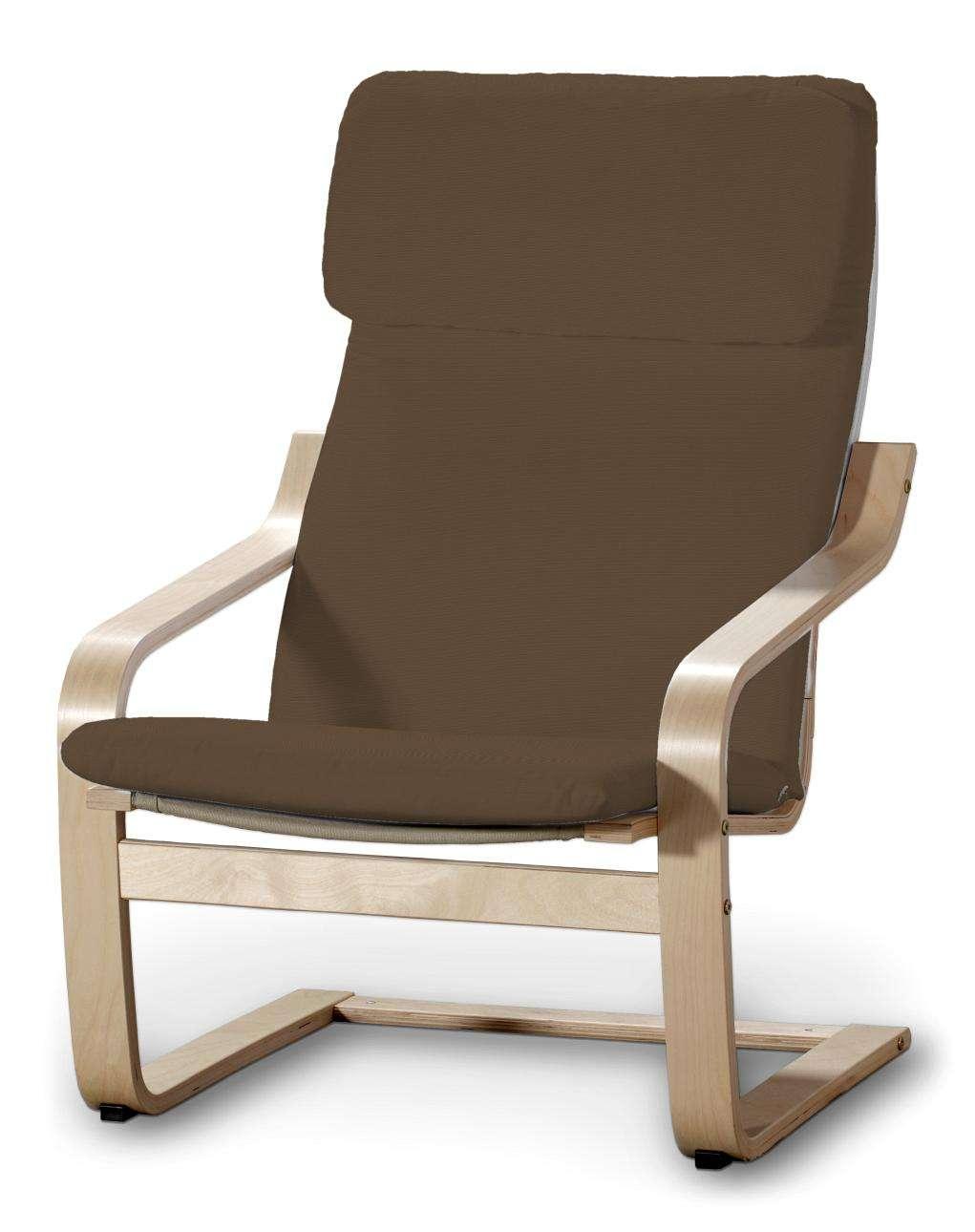 Poduszka na fotel Poäng Fotel Poäng w kolekcji Cotton Panama, tkanina: 702-02