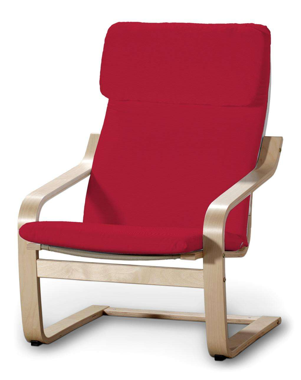 Poduszka na fotel Poäng w kolekcji Cotton Panama, tkanina: 702-04