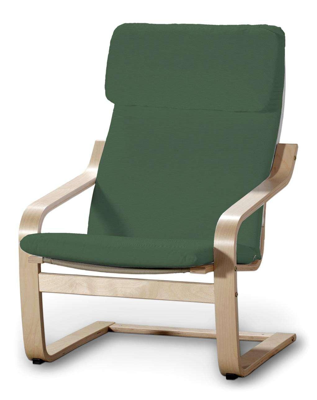 Poäng Sesselbezug I, waldgrün, Sessel Poäng, Cotton Panama