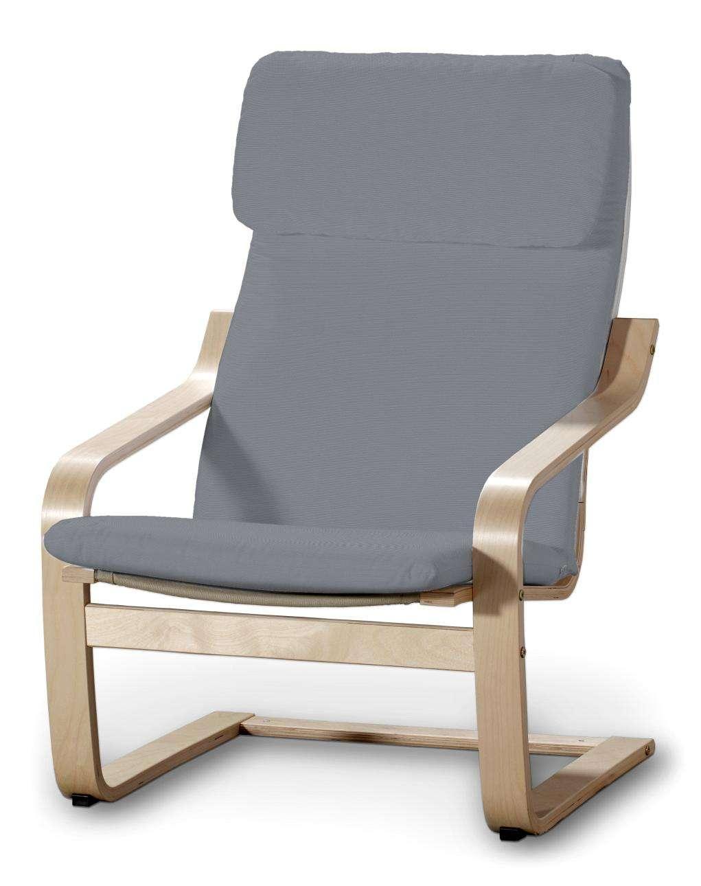 Poäng Sesselbezug I Sessel Poäng von der Kollektion Cotton Panama, Stoff: 702-07