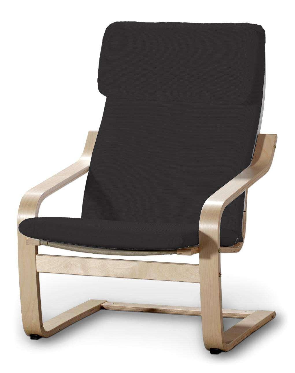 Poduszka na fotel Poäng Fotel Poäng w kolekcji Cotton Panama, tkanina: 702-08
