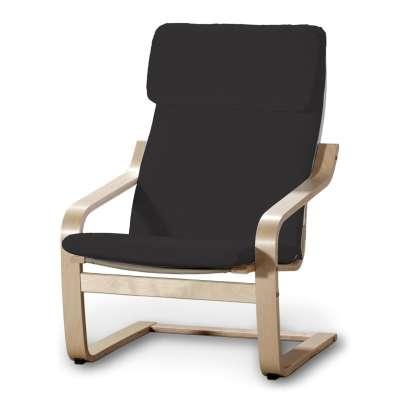 Sedák na křeslo IKEA Poäng 702-08 Shadow Grey - grafitová Kolekce Cotton Panama