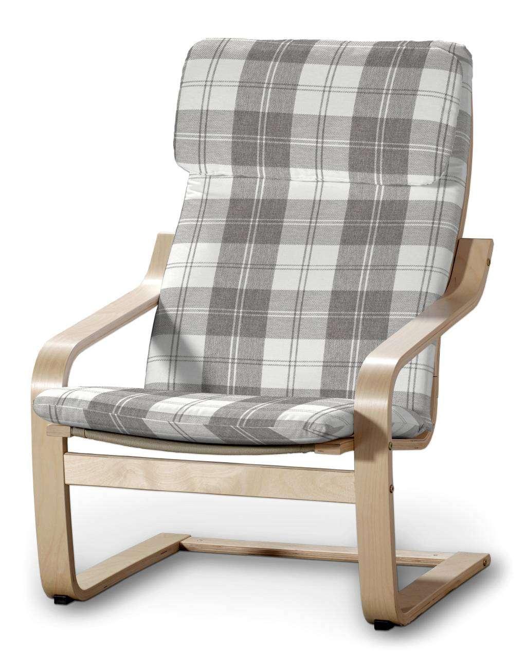 Puter komplett, passer til Ikea modell Poäng lenestol fra kolleksjonen Edinburgh, Stoffets bredde: 115-79