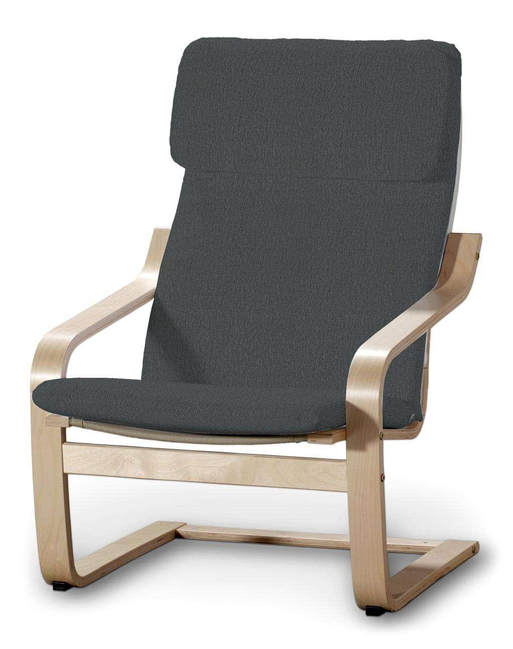 Poduszka na fotel Poäng Fotel Poäng w kolekcji Chenille, tkanina: 702-20