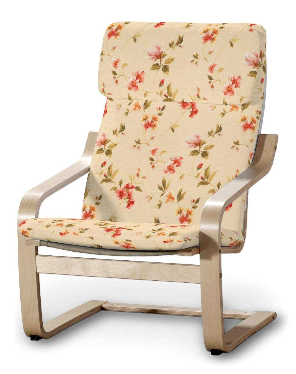 Poduszka na fotel Poäng w kolekcji Londres, tkanina: 124-05