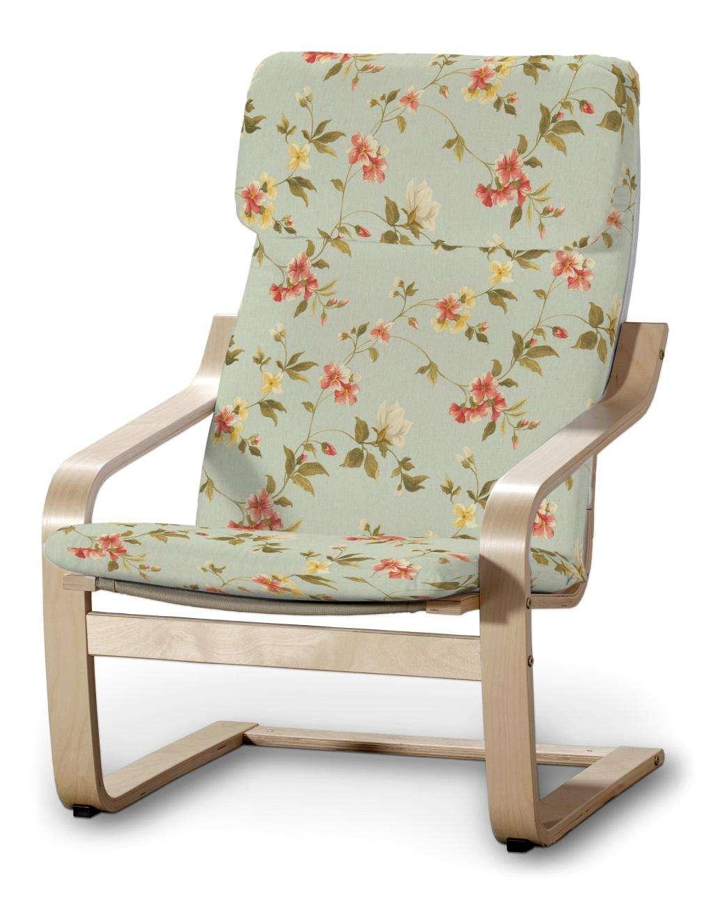 Poduszka na fotel Poäng w kolekcji Londres, tkanina: 124-65