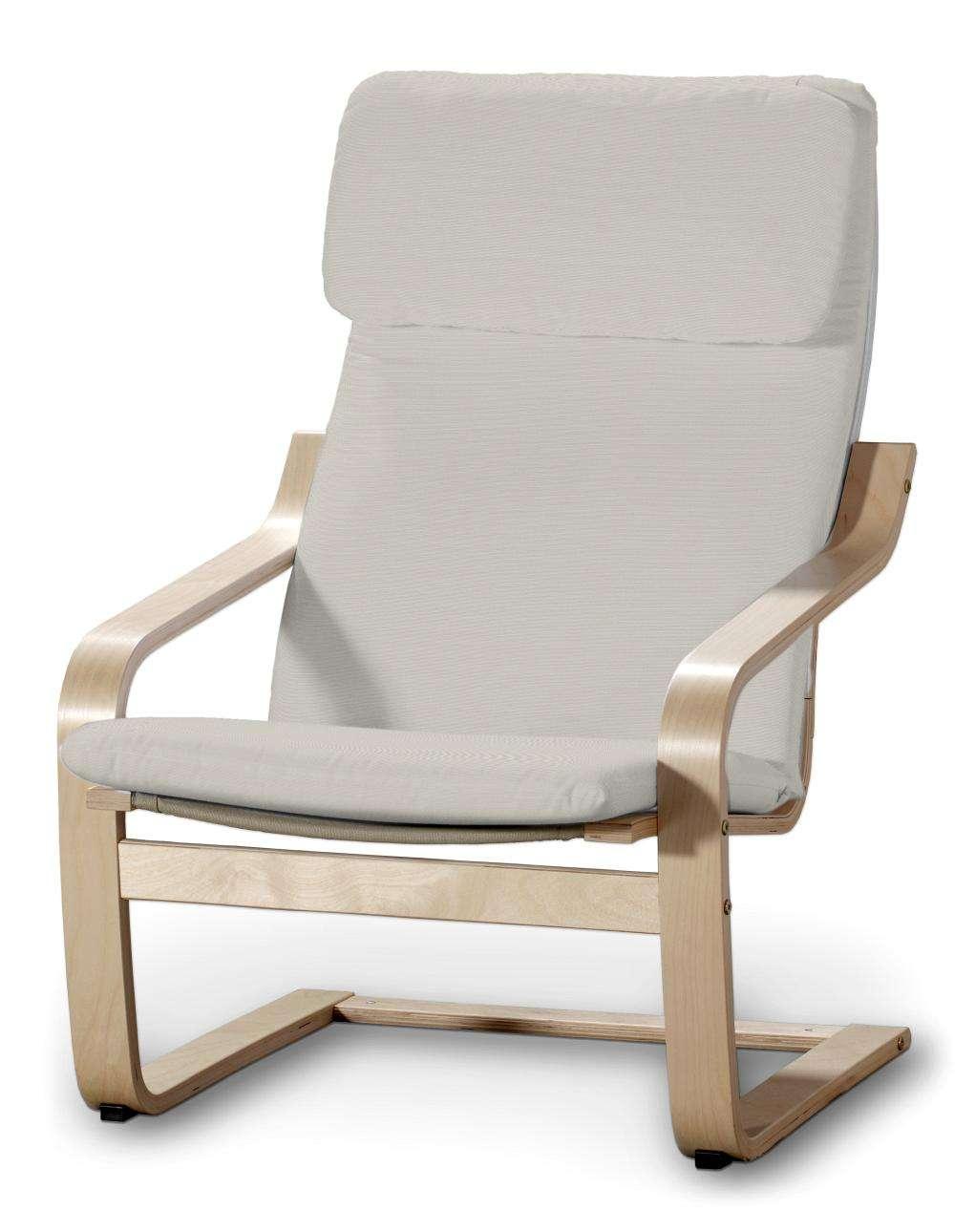 Poäng Sesselbezug I von der Kollektion Cotton Panama, Stoff: 702-31
