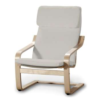 Poduszka na fotel Poäng w kolekcji Cotton Panama, tkanina: 702-31