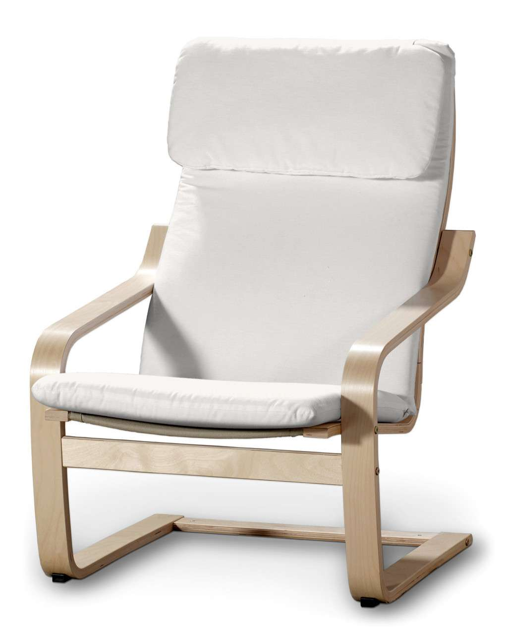 Poäng Sesselbezug I von der Kollektion Cotton Panama, Stoff: 702-34