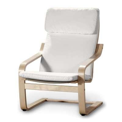 Poduszka na fotel Poäng w kolekcji Cotton Panama, tkanina: 702-34