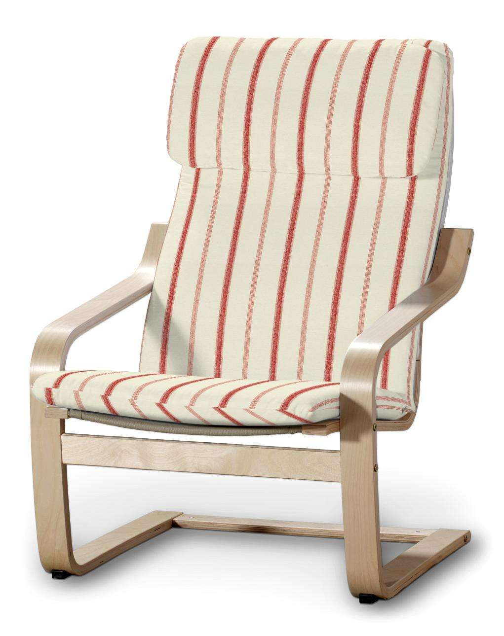 Poduszka na fotel Poäng Fotel Poäng w kolekcji Avinon, tkanina: 129-15