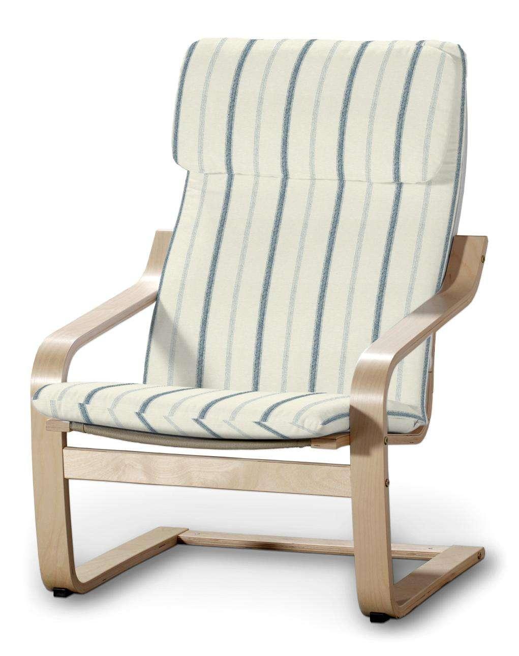 Poduszka na fotel Poäng Fotel Poäng w kolekcji Avinon, tkanina: 129-66