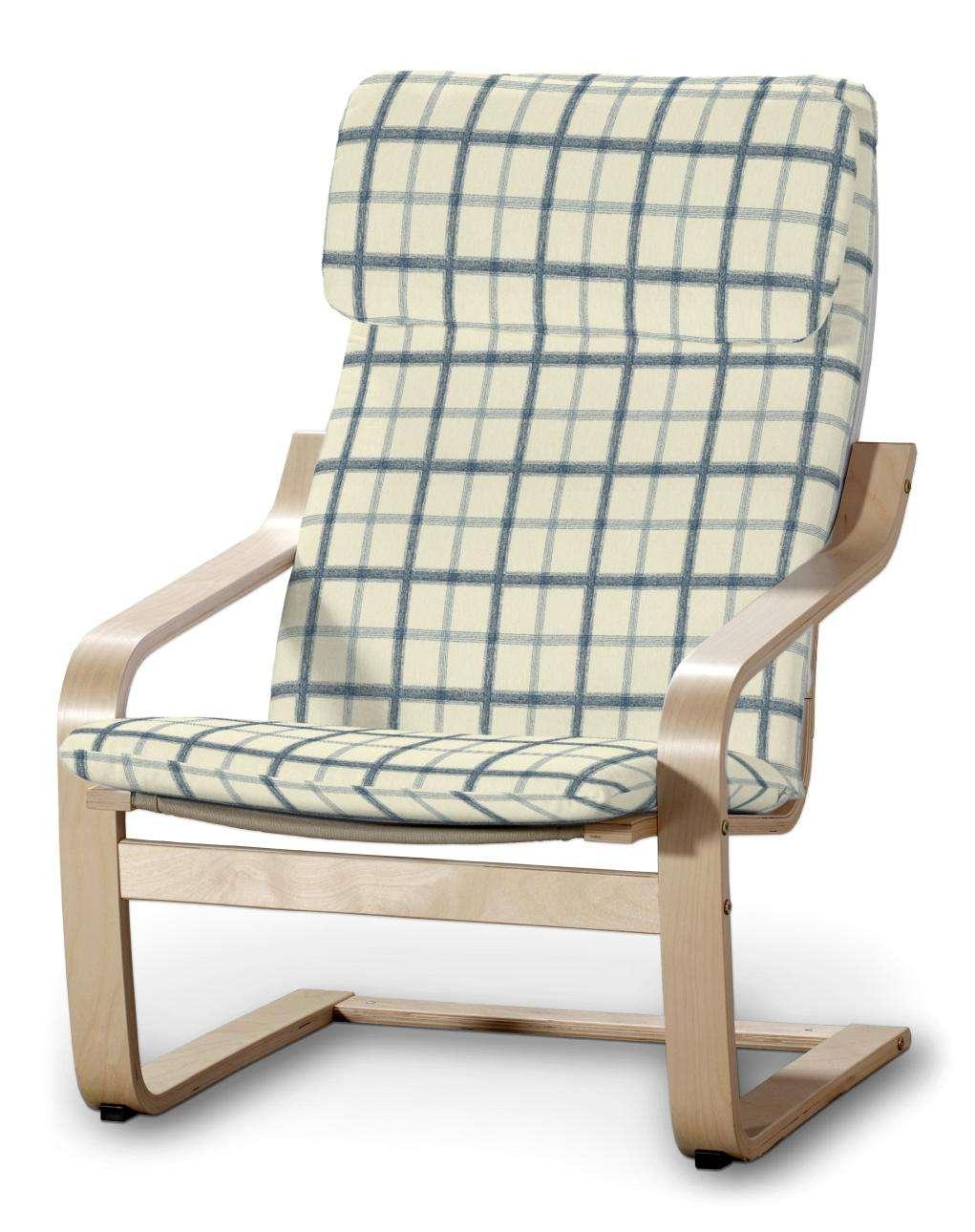 Poduszka na fotel Poäng Fotel Poäng w kolekcji Avinon, tkanina: 131-66