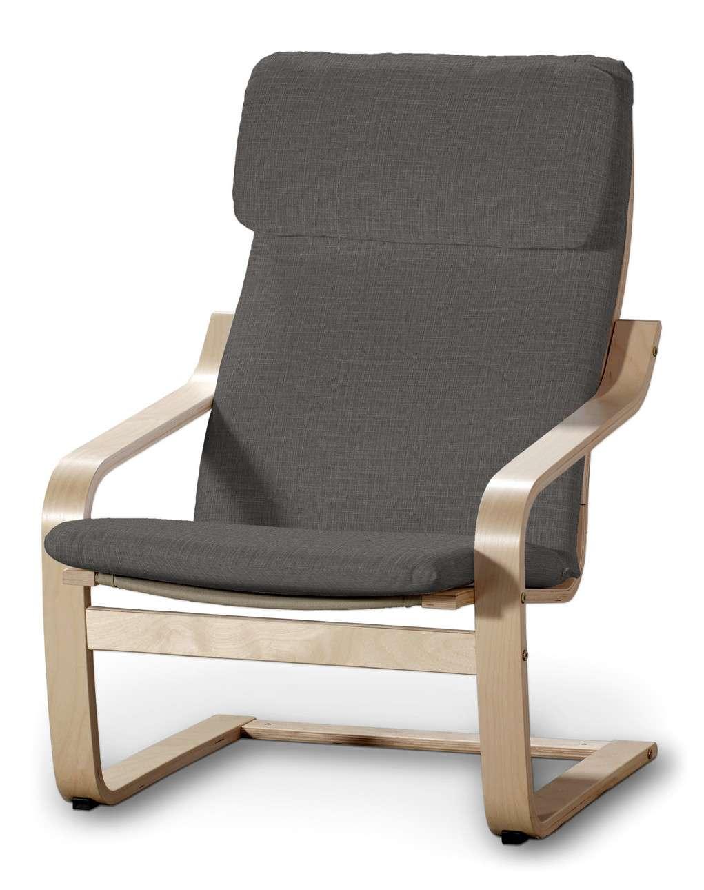 Poduszka na fotel Poäng w kolekcji Living II, tkanina: 161-16