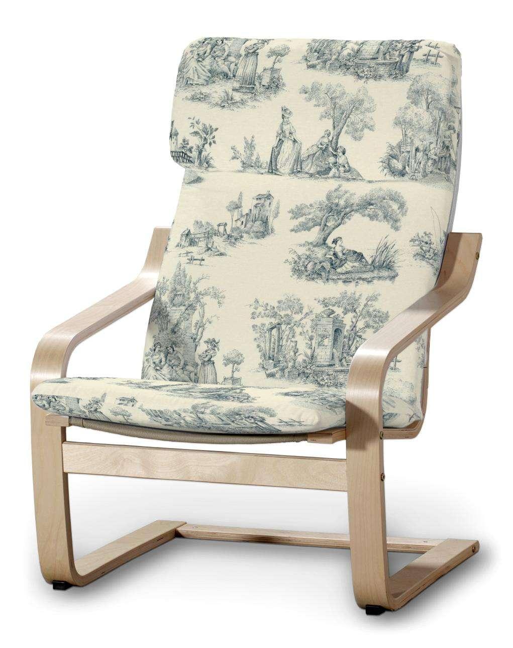 POÄNG  fotelio užvalkalas Poäng armchair kolekcijoje Avinon, audinys: 132-66