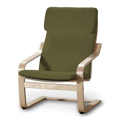 Poduszka na fotel Poäng w kolekcji Etna, tkanina: 161-26