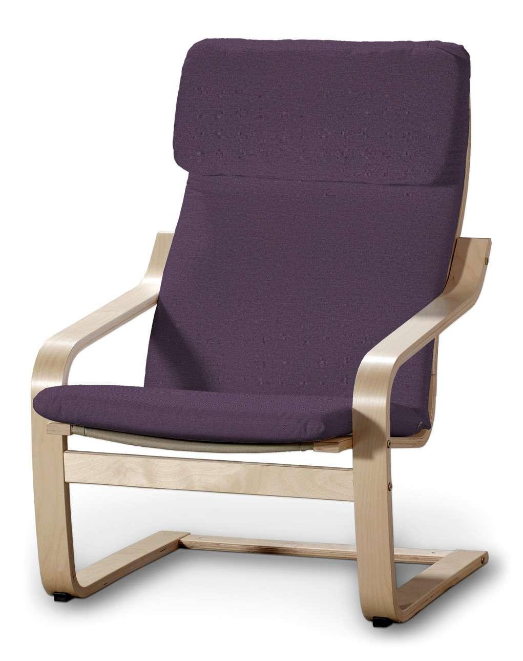Poduszka na fotel Poäng w kolekcji Etna, tkanina: 161-27