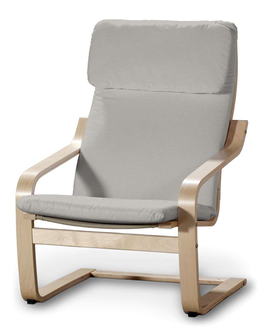Poduszka na fotel Poäng w kolekcji Bergen, tkanina: 161-84