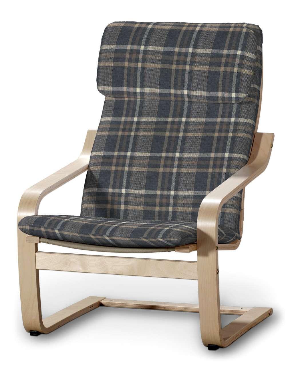 Poduszka na fotel Poäng w kolekcji Edinburgh, tkanina: 703-16