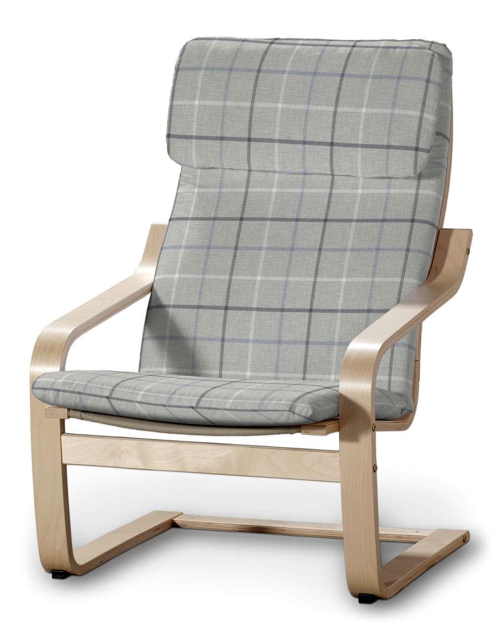 Poduszka na fotel Poäng w kolekcji Edinburgh, tkanina: 703-18