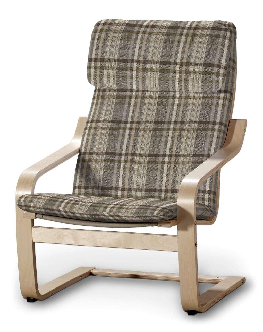 Poduszka na fotel Poäng w kolekcji Edinburgh, tkanina: 703-17