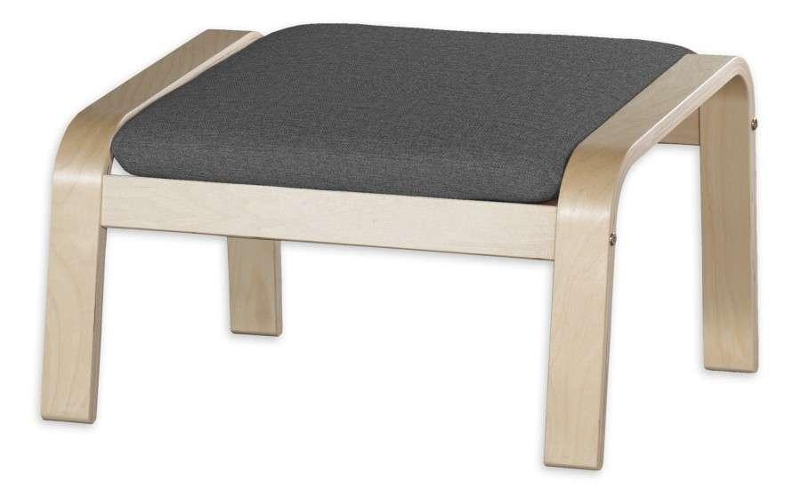 POÄNG  kojų kėdutės užvalkalas Poäng footstool kolekcijoje Edinburgh , audinys: 115-77