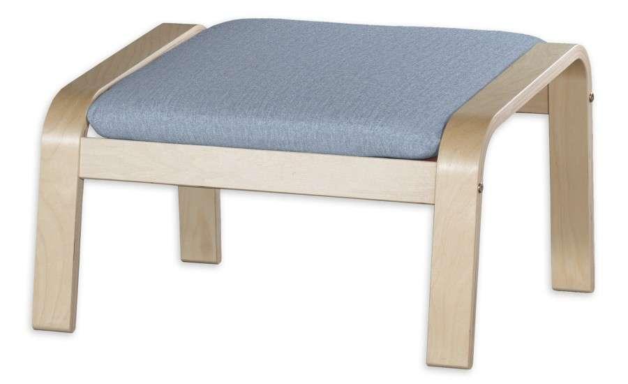 POÄNG  kojų kėdutės užvalkalas Poäng footstool kolekcijoje Chenille, audinys: 702-13