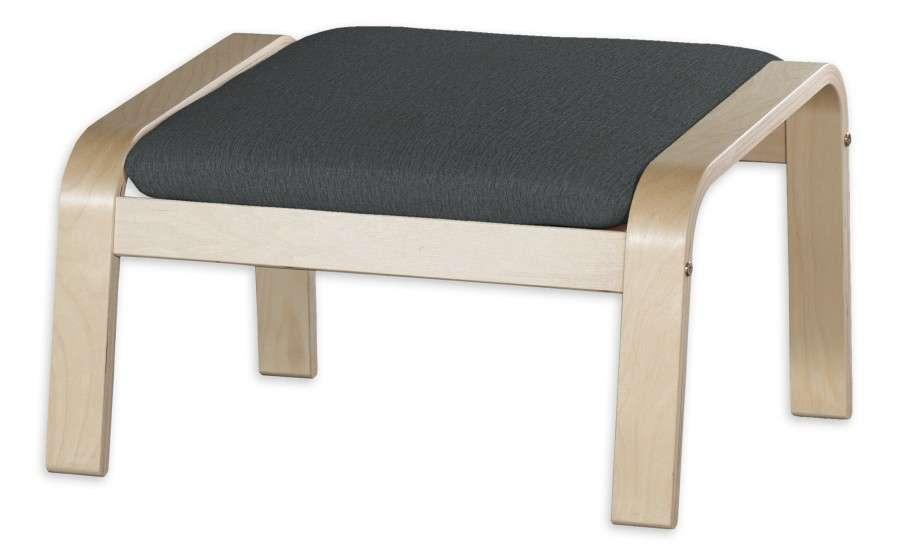 Poduszka na podnóżek Poäng Podnóżek Poäng w kolekcji Chenille, tkanina: 702-20