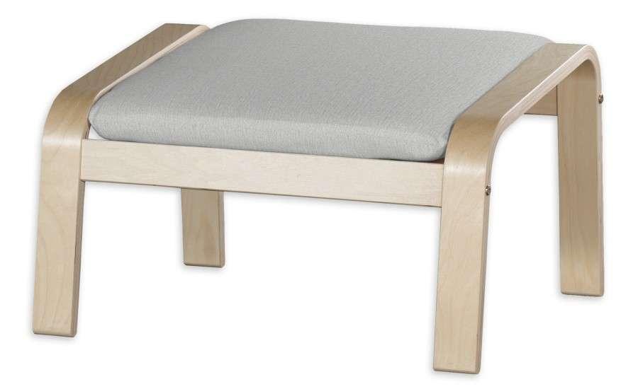 Poduszka na podnóżek Poäng w kolekcji Chenille, tkanina: 702-23