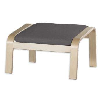 Puter komplett, passer til Ikea modell Poäng fodskammel