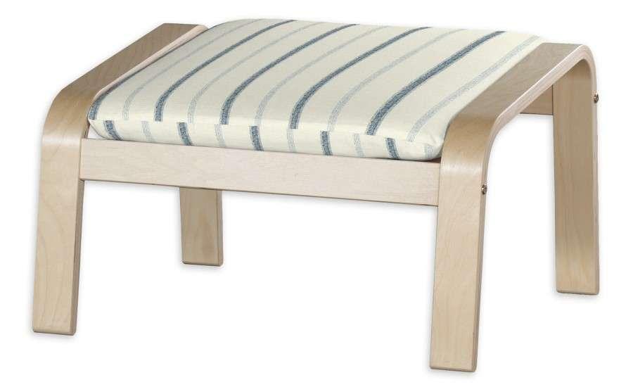 POÄNG  kojų kėdutės užvalkalas Poäng footstool kolekcijoje Avinon, audinys: 129-66
