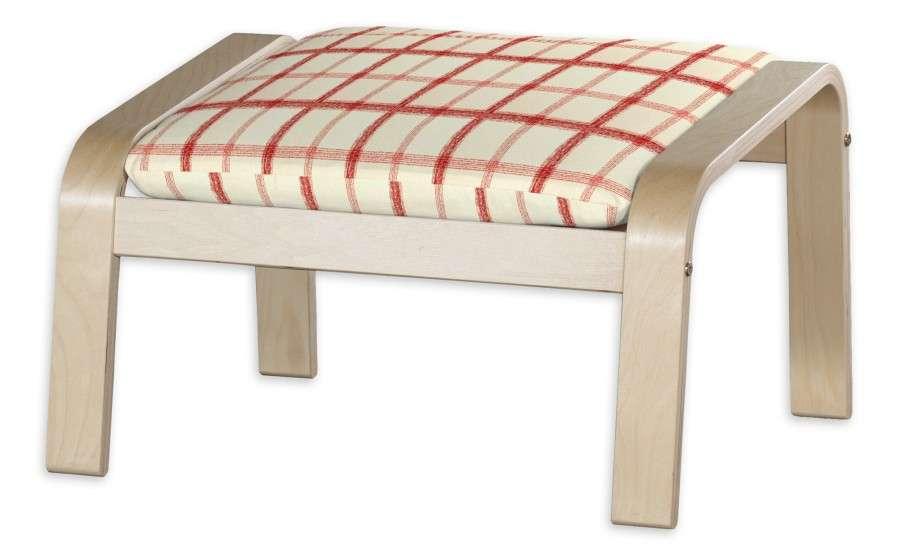 Poduszka na podnóżek Poäng Podnóżek Poäng w kolekcji Avinon, tkanina: 131-15