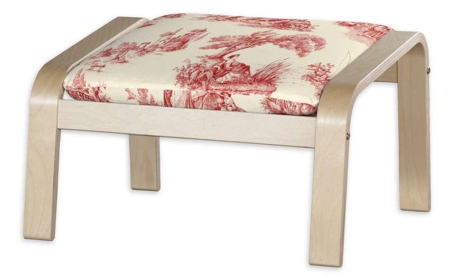 Poduszka na podnóżek Poäng Podnóżek Poäng w kolekcji Avinon, tkanina: 132-15