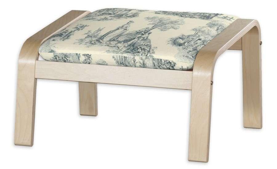 POÄNG  kojų kėdutės užvalkalas Poäng footstool kolekcijoje Avinon, audinys: 132-66