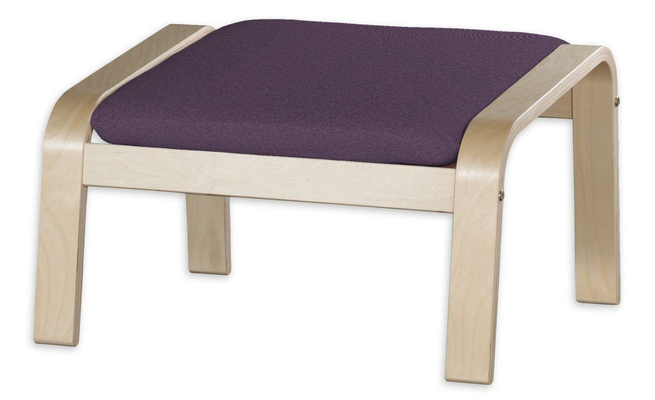 Poduszka na podnóżek Poäng w kolekcji Etna, tkanina: 161-27