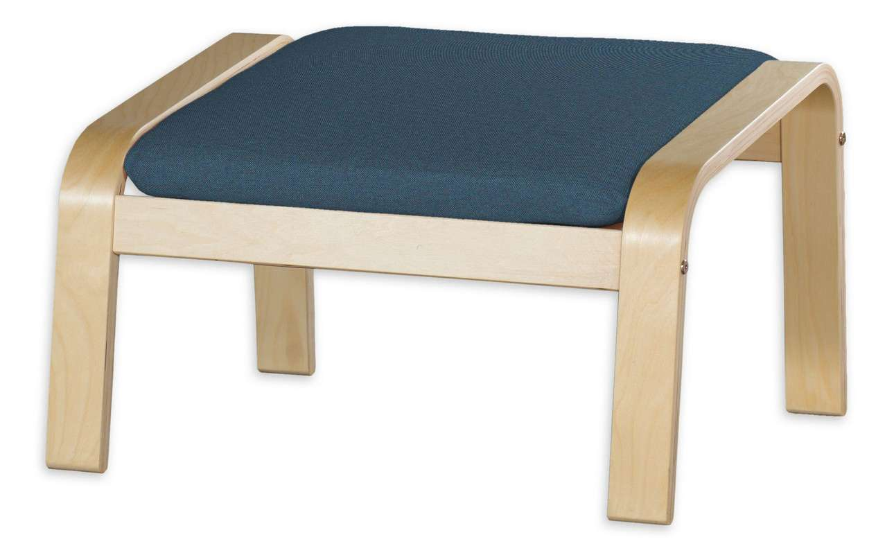 Poduszka na podnóżek Poäng w kolekcji Etna, tkanina: 705-30