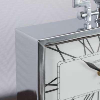 Zegar London Silver wys. 23cm