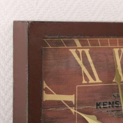 London Wall Clock Brown 40x6x40cm Clocks - Dekoria.co.uk
