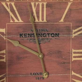 Zegar ścienny London Brown 40x6x40cm  40x6x40cm