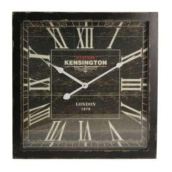 Zegar ścienny London Black 40x6x40cm