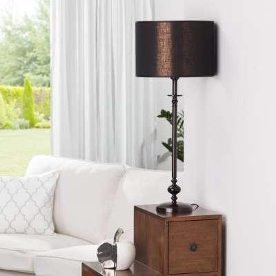 Lampa stołowa Chloe Black wys. 71,5m
